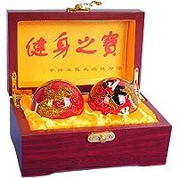 Baoding Balls.bolas Ying Yang, Double Massage Ball (red)