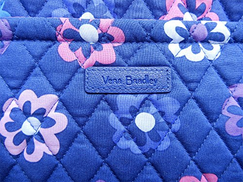 Purple Luggage Vera Miller Bradley Flowers Interior With Bag Womens Ellie URnZ4RHxw