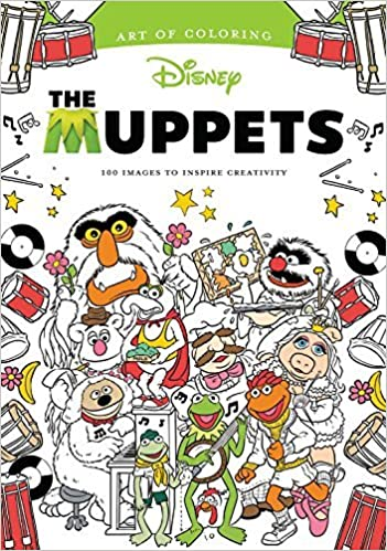 Amazoncom Art of Coloring Muppets 100 Images to Inspire