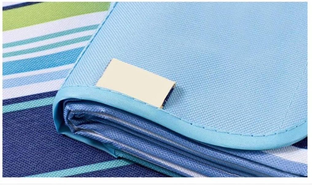 Coperta da picnic, impermeabile, portatile, con manico, extra morbido, pieghevole, per escursioni, viaggi, festival, campeggio, parco Viola
