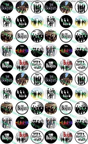 60 Precut Images The Beatles Set -