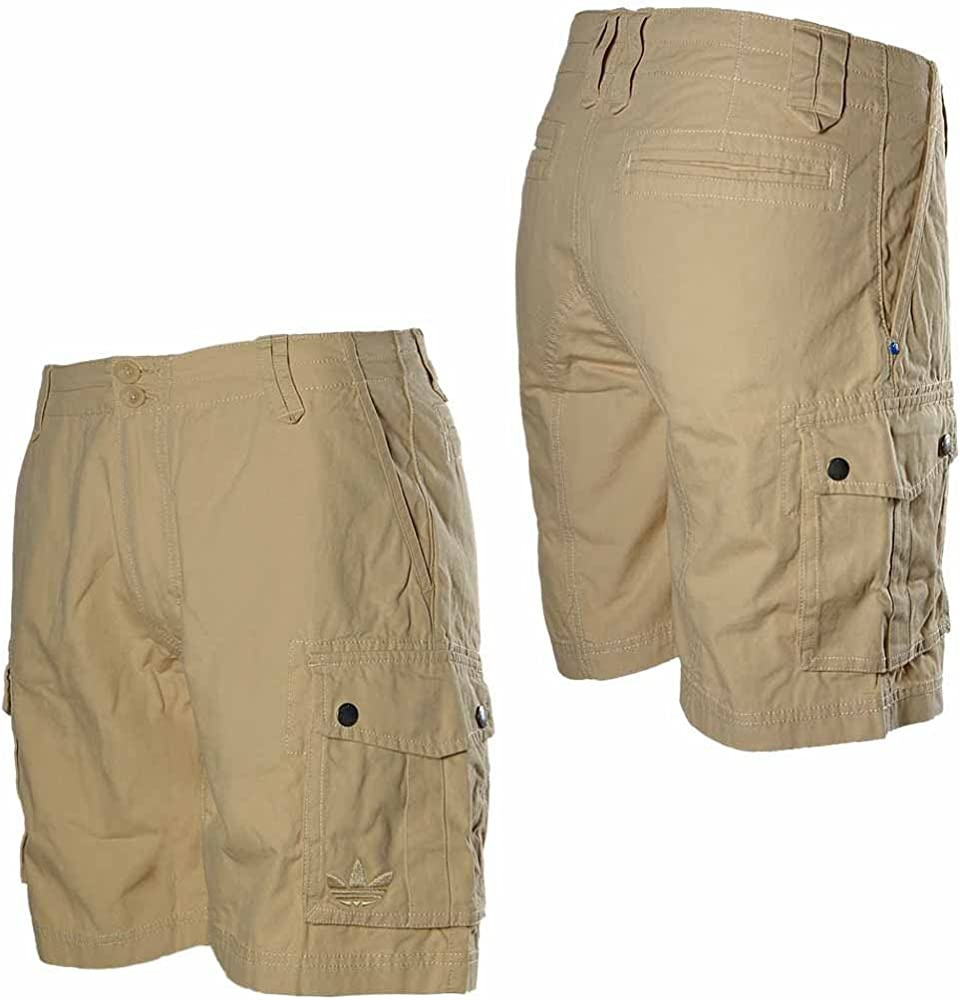 adidas Originals – Pantalones cortos, AC Cargo de algodón de verano Bermuda Beige Beige beige: Amazon.es: Ropa y accesorios