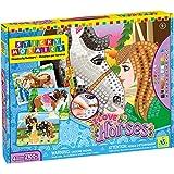 Mosaïque aux Numéros - 4 Projets - I Love Horses - Loisirs Créatifs - Sticky Mosaics - Orb Factory - ORB69100