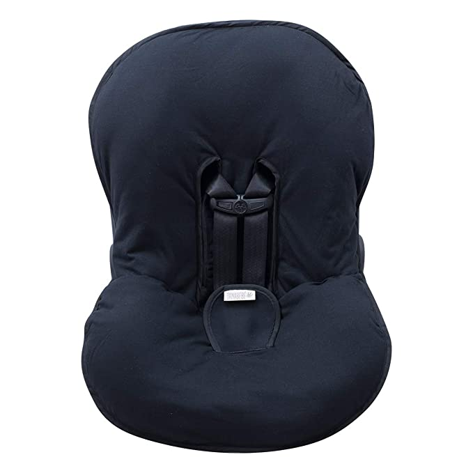 Black Rayo, Size 0 JANABEBE Padded Harness Protector for Stroller Carseat