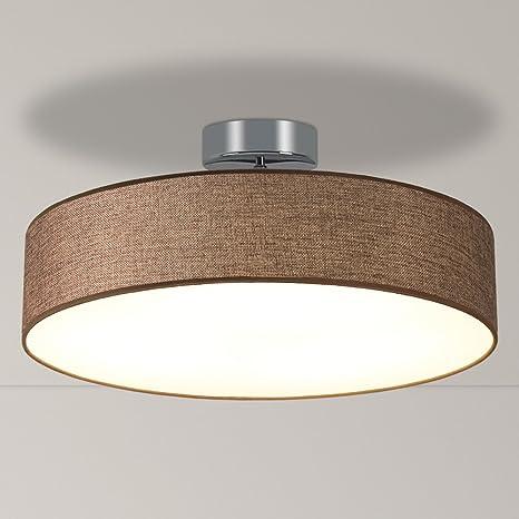 Lámpara de techo LED Moderna, 33 W, redonda, 3 colores de ...