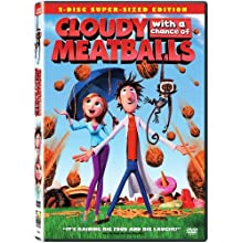 Cloudy with a Chance of Meatballs (Single-Disc Edition) (2009)
