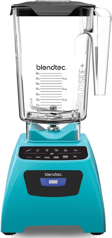 Blendtec Signature Series Blender With Wildside Jar, Blue