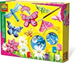 ES SES 01131 Children's Butterfly Glitter Casting and Painting Set