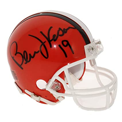893b7c49 Amazon.com: Bernie Kosar Autographed Signed Cleveland Browns Replica ...