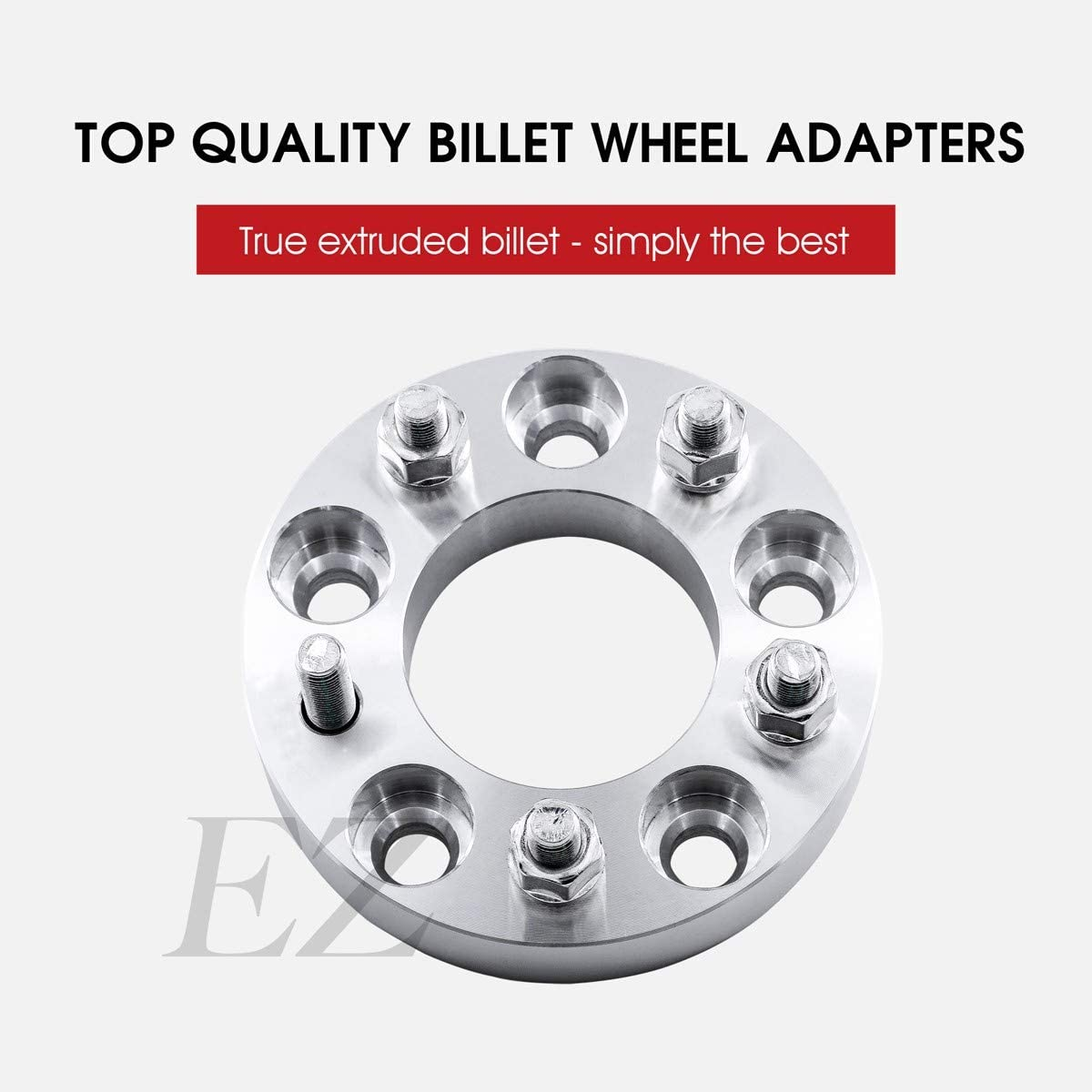 4 Billet Wheel Adapters 5 Lug 4.5 to 5 Lug 5.5 Thickness 2 Inch