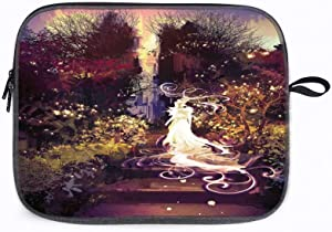 """Fantasy Surreal Lady 14"""" Laptop Sleeve Bag Compatible with MacBook Pro,MacBook Air,Notebook Computer"""