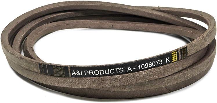 "Deck Belt for Exmark 109-8073 1098073 Lazer Z 60/"" Deck AS S X Series"