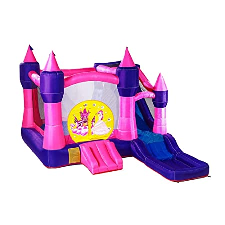Zxllyntop Castillo Inflable Infantil Niños Inflable Castillo ...