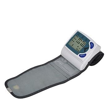 Inteligente hogar aparatos electrónicos de tensiómetro muñeca presión arterial esfigmomanómetro, english (for export): Amazon.es: Deportes y aire libre