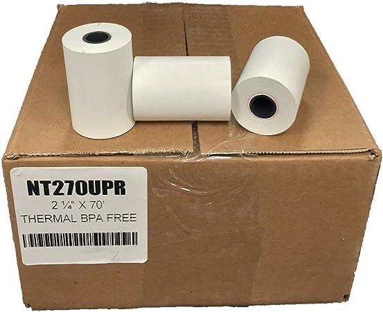 """2-1//4/"""" x 70/' Thermal Paper 100 Rolls Vx520"""