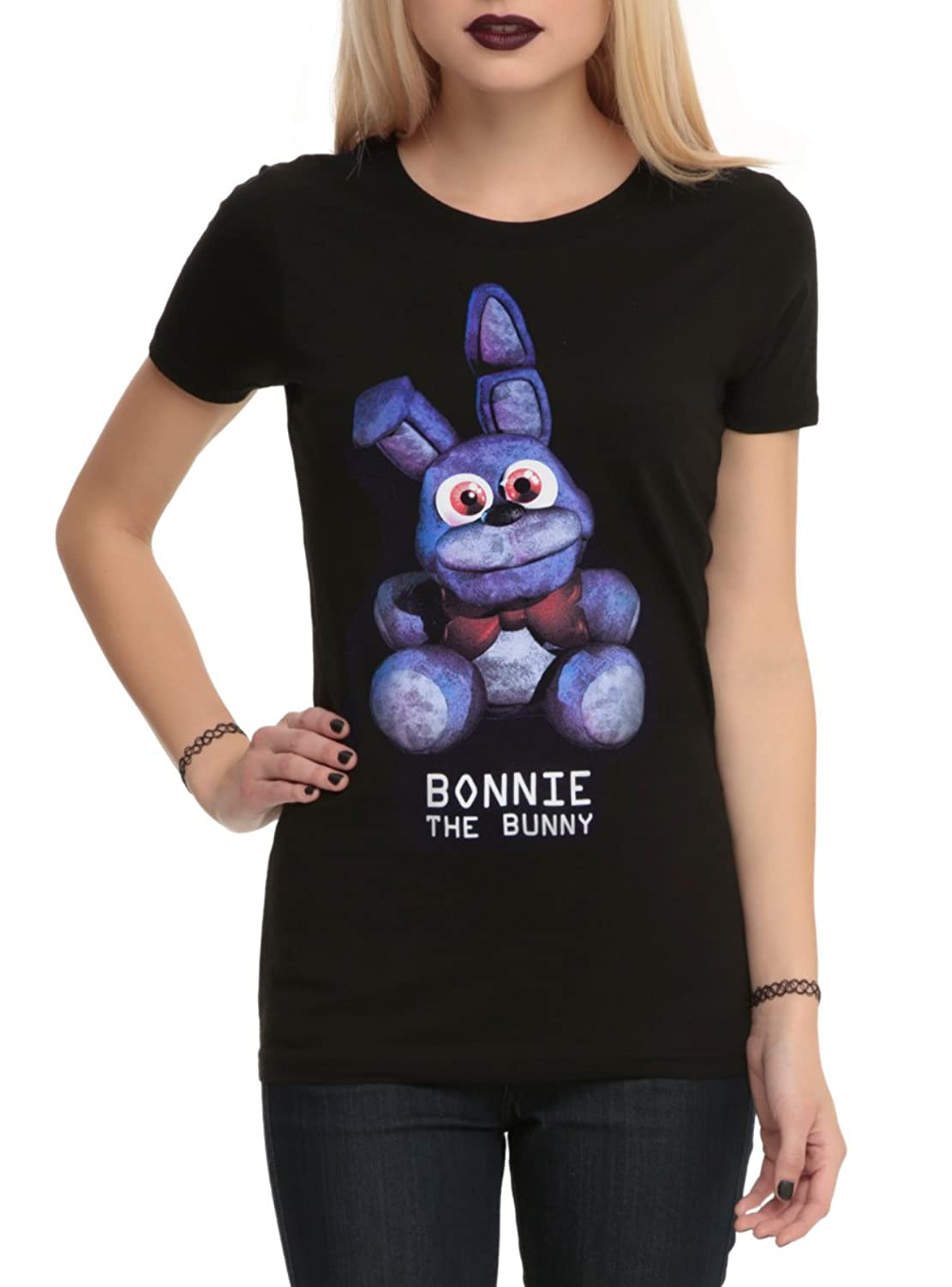 Five Nights At Freddy's Bonnie The Bunny Girls T-Shirt