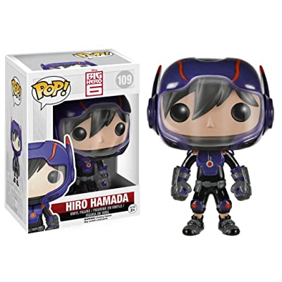 Funko POP! Disney: Big Hero 6-Hiro Hamada Action Figure: Funko Pop: Toys & Games