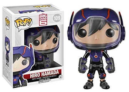 Amazoncom Funko Pop Disney Big Hero 6 Hiro Hamada Action Figure