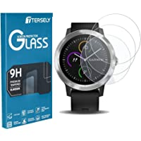T Tersely [3 Pack] for Garmin Vivoactive 3 Screen Protector, 9H Hardness Scratch Resistant Anti-Bubbles Anti-Fingerprint…