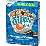 Dippin Dots Cookies & Cream Flavored Cereal, 18 oz