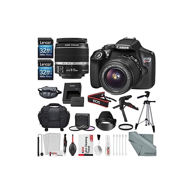 Canon EOS Rebel T6 DSLR Camera, EF-S 18-
