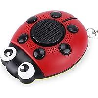 Draagbare Persoonlijke Beveiliging Alarm Sleutelhanger Zelfverdediging SOS Noodgeval met Zaklamp Speaker Functie