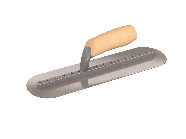 rundes Ende Bon 22-347 35,6//10,2/°cm Maurerkelle Pro Plus mit langem Schaft und Holzgriff