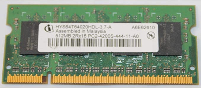 2x2GB RAM Memory Upgrade Kit for The Dell Latitude D531 4GB PC2-4200 DDR2-533