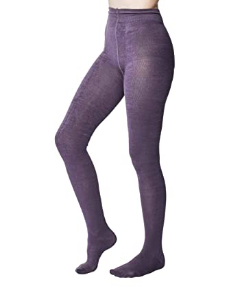 c7c7d2313ca4e Elgin women's super-soft warm bamboo tights in slate | By Thought ...