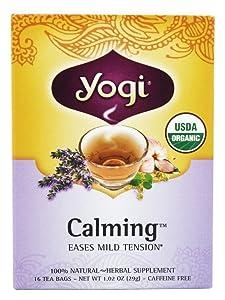 Yogi Calming Tea,caffeine free,1.02oz,16 tea bags