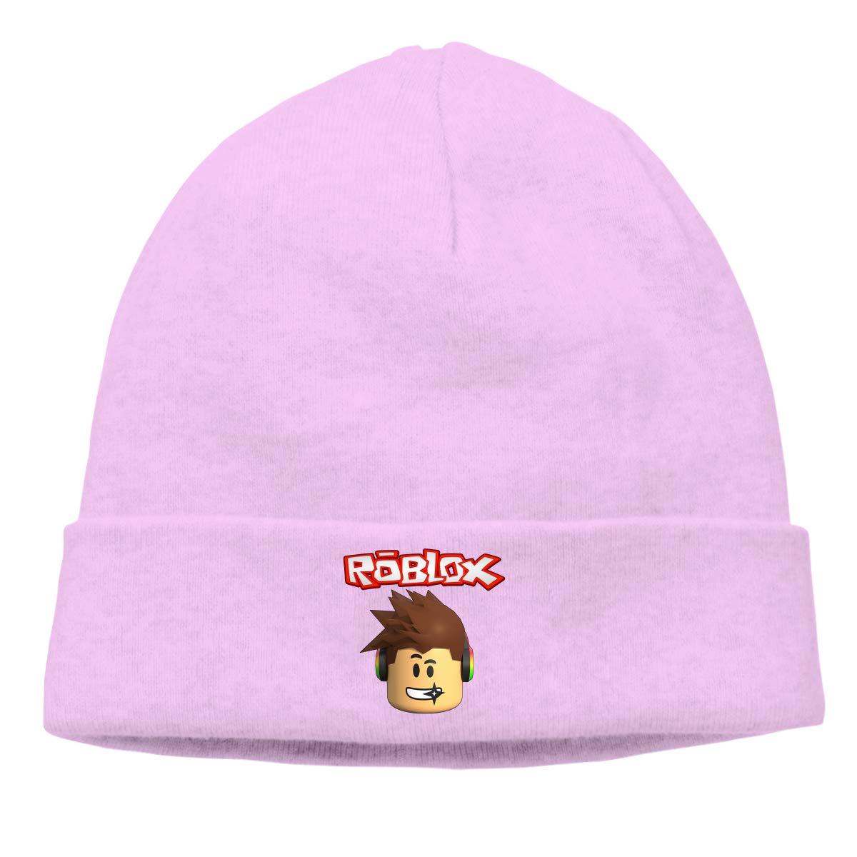 72adc0ff958da Amazon.com  Edgar John Unisex Roblox Skull Hats Knitted Hat Beanie Black   Clothing