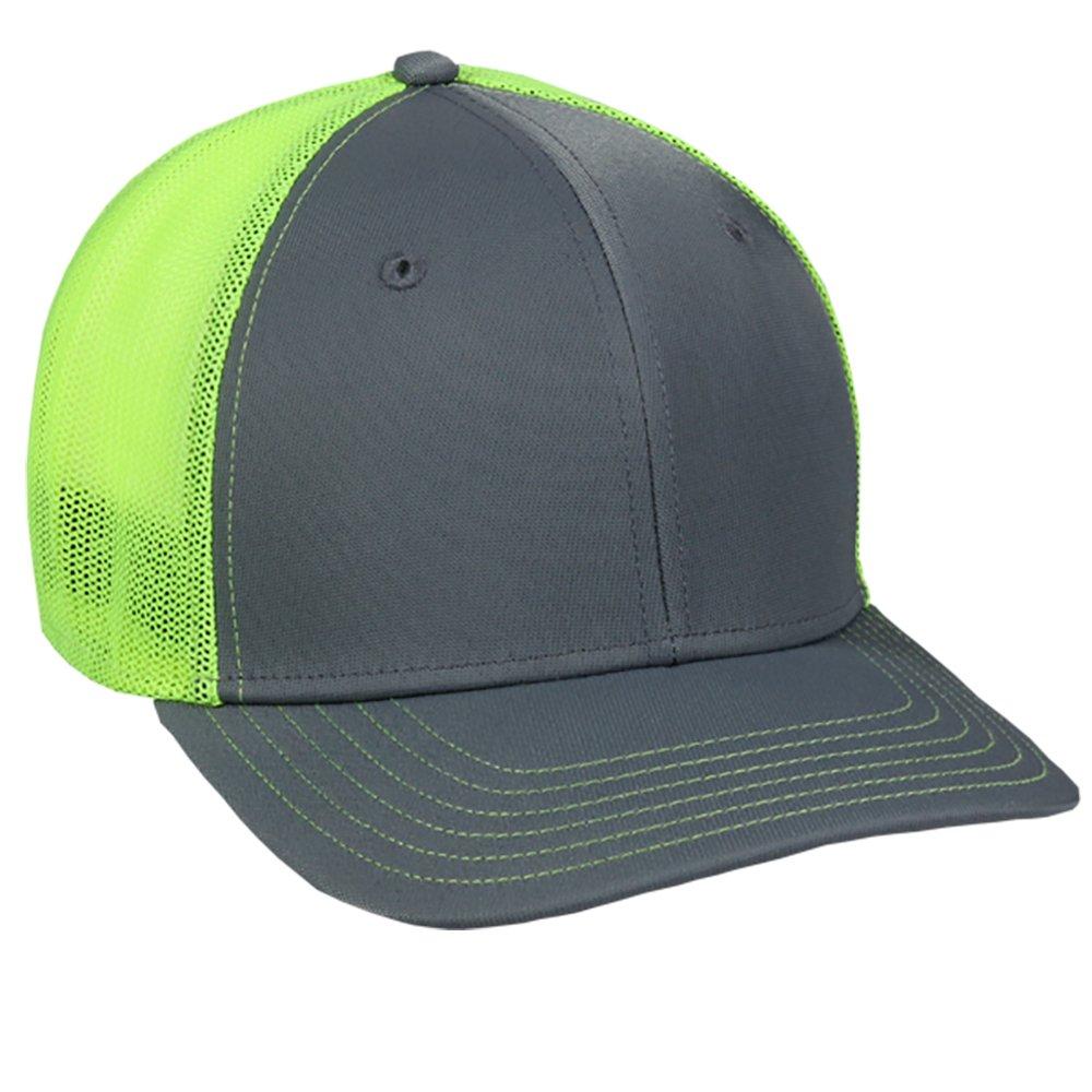 OutDoorCap HAT メンズ B0711J3V2J Medium / Large|Graphite/Neon Yellow Graphite/Neon Yellow Medium / Large