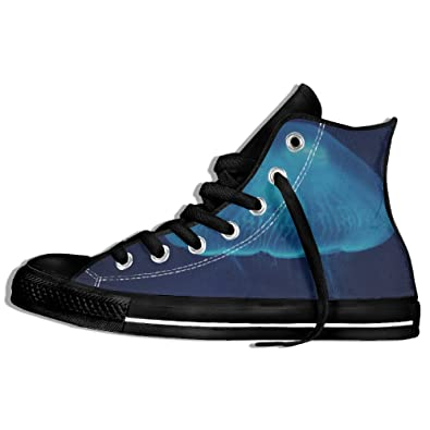 Jellyfish Close Up Surface World Gym Shoes For Men Funny Shoes
