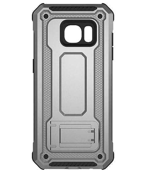 KUAWEI Coque Samsung Galaxy S7 Cover Slim Armure Series - Lourde Etui Housse  avec Coussin 923a7076d019