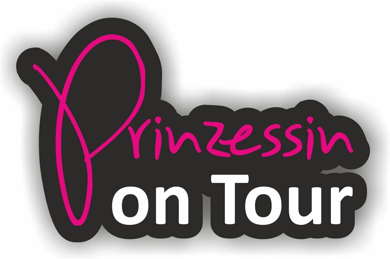 Folien Zentrum Prinzessin On Tour Shocker Hand Auto Aufkleber Jdm Tuning Oem Dub Decal Stickerbomb Bombing Fun W Auto