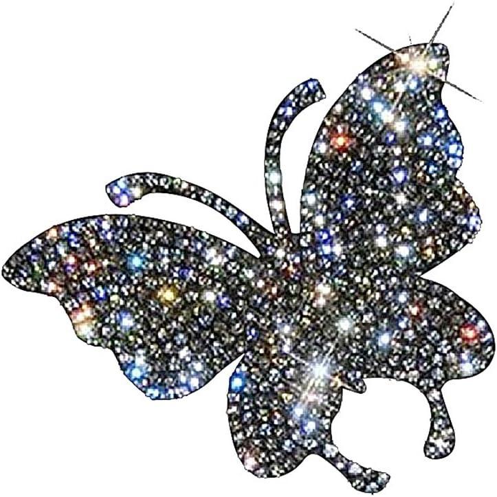 Love Nicole Rhinestone Butterfly Gem Stickers 4 Stickers each pack