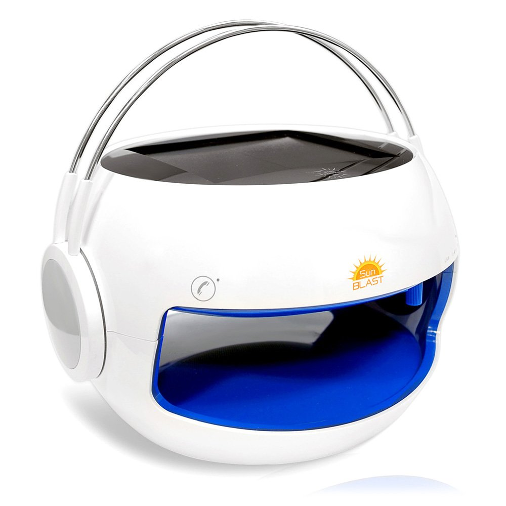 Amazon.com: Pyle PBTSN50 Sunblast 2-in-1 Portable Bluetooth Solar ...