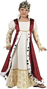 Limit Sport - Disfraz natural de reina medieval para niña (MI919 ...