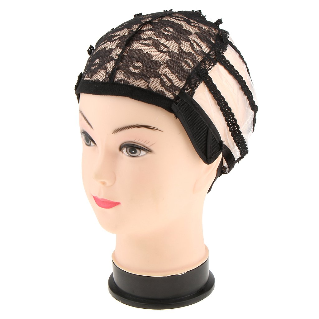 Sharplace High Quality Breathable Adjustable Straps Lace Wig Cap