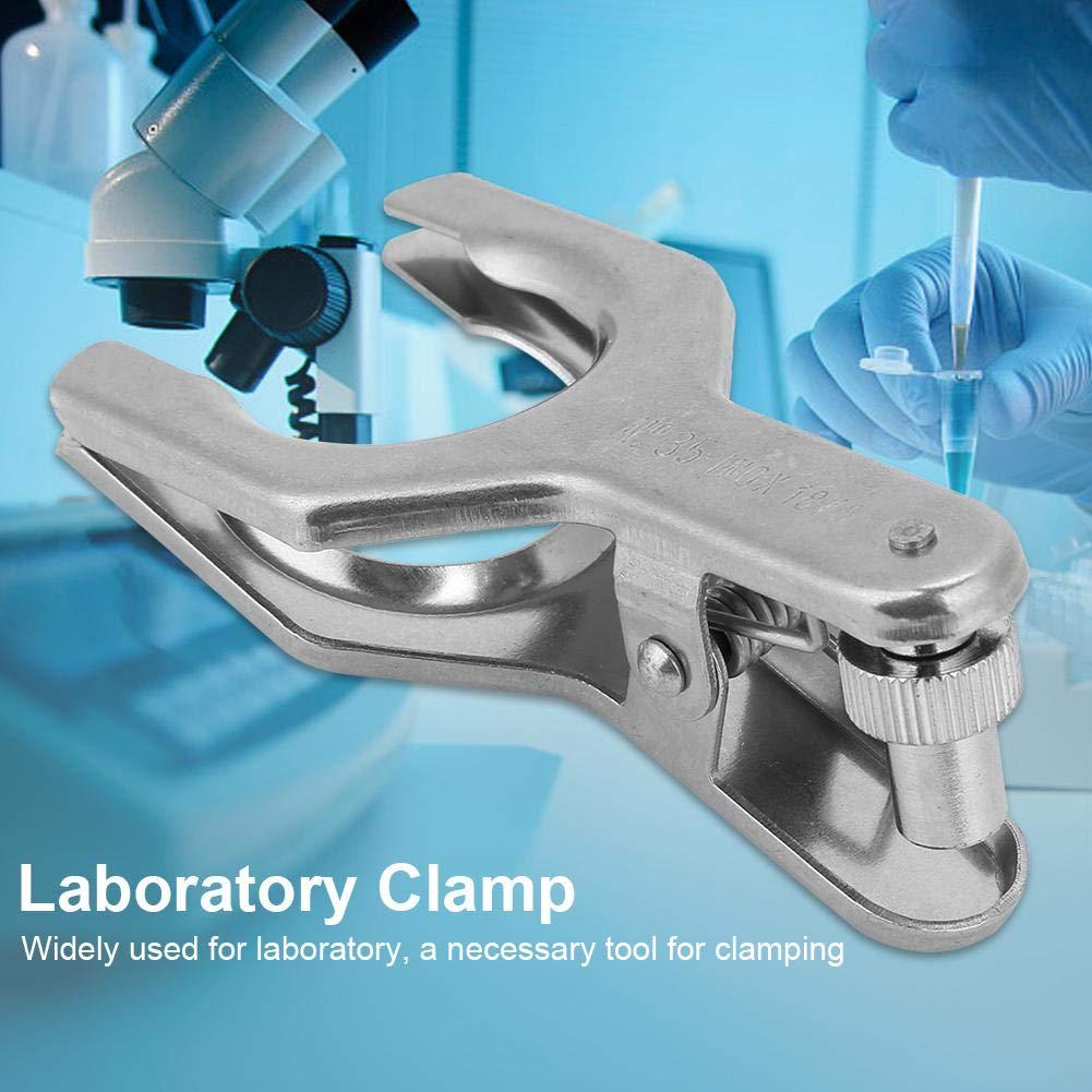 1Pcs 35# Pince /à Joint /à Rotule en Acier Inoxydable pour Laboratoire Pince de Verrouillage