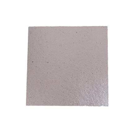 SLB Works 2pcs Microwave Oven Repairing Part Mica Plate Sheet 13 * 13cm/5.1 * 5.1 inch HICA