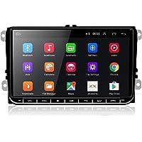 Radio Coche 2 DIN Android 8.1, Podofo Autoradio Bluetooth con 9 Pulgadas Pantalla Táctil para VW Seat Passat Golf Skoda…