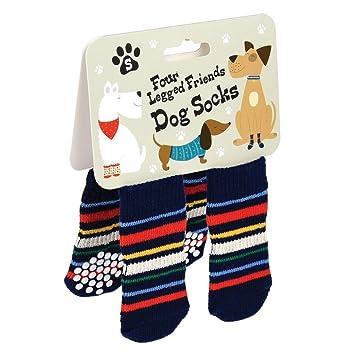 dotcomgiftshop Dog Socks Choice Of Design /& Sizes Stripes - Large