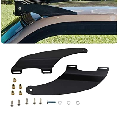 Upper Windshield Mount Bracket for 52'' Curved LED light bar Fit 2009-2020 Dodge Ram 1500 & 2010-2020 Dodge Ram 2500: Automotive