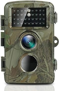 TEC.BEAN Cámara de Caza, 12MP 1080p FHD Cámara con Visión Nocturna ...