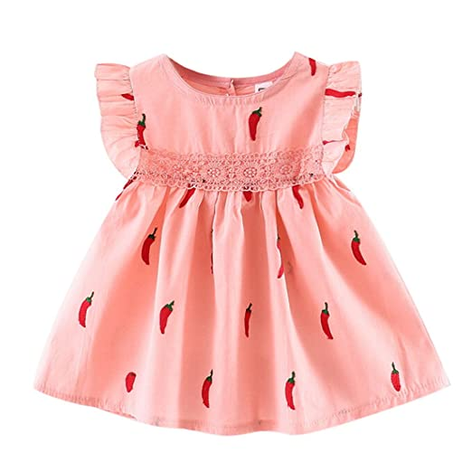 7969f653384fd Amazon.com: Euone Baby Outfit for 0-2 Years Old Kids, Girls Dress ...