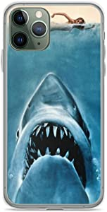 Phone Case Jaws Shark Compatible with iPhone 6 6s 7 8 X XS XR 11 Pro Max SE 2020 Samsung Galaxy Funny Anti