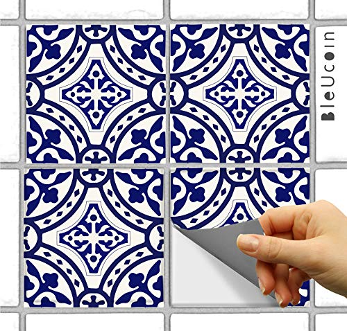 Portugal Tile Stickers for Kitchen Bathroom and Stair Riser(8