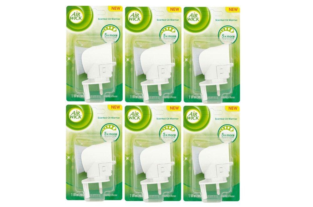 6 x Airwick Plugs - Air Freshener Plug In Machines Diffusers (No refills) AIR WICK