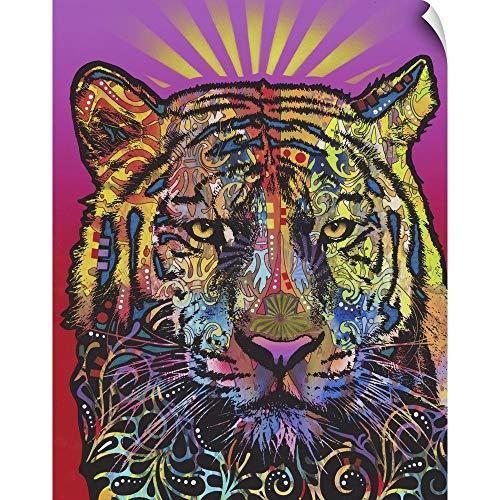 (CANVAS ON DEMAND Regal (Tiger) Wall Peel Art Print, 24